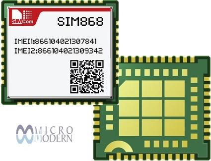 معرفی ماژول SIM868 GSM شرکت SIMCOM