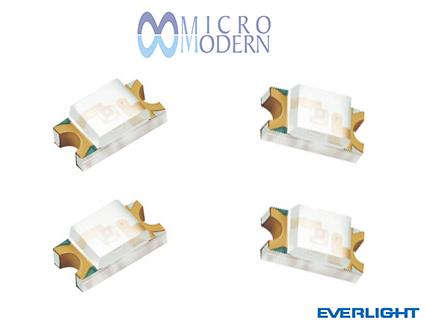 LED SMD 15-21SYGC/S530-E2/TR8 1206 Green