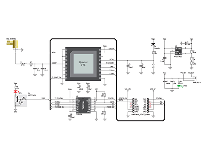 معرفی ماژول L76 GNSS شرکت QUECTEL