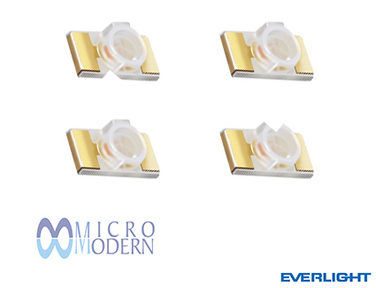 LED SMD 25-21/T1D-AP2R1HY/2T 1206 White Reverse
