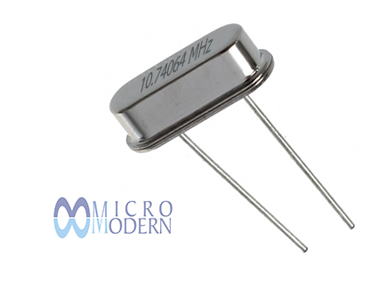 XTAL HUSG 10.74064MHz-20-20-30I DIP Mercury