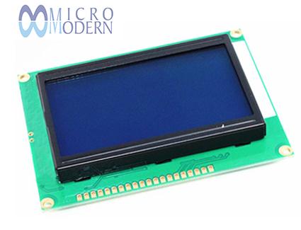 Graphic LCD 128x64 Blue RHD LCM12864M-3