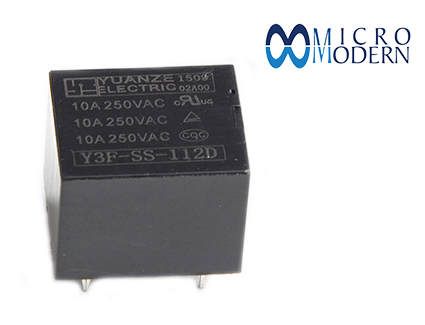 Relay Y3F-SS-112D 12V 10A Milon Silver Plate