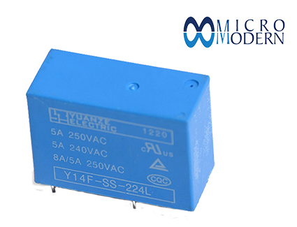 Relay Y14F-SS-224L 24V 8A Copper Plate