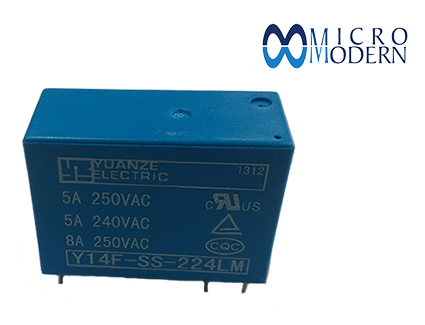 Relay Y14F-SS-224LM 24V 8A Copper Plate