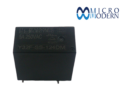 Relay Y32F-SS-124DM 24V 5A Silver Plate