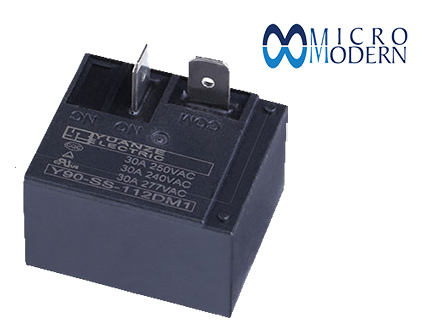 Relay Y90-SS-112DM1 12V 30A Silver Plate