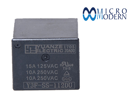 Relay Y3F-SS-112DU 12V 10A Silver Plate