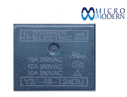 Relay Y3F-SS-124DV 24V 10A Silver Plate