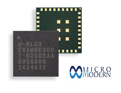 GNSS SiP Module ublox EVA-M8M