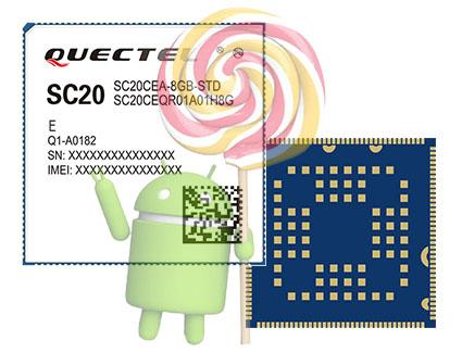 معرفی ماژول SC20 Smart Module شرکت QUECTEL
