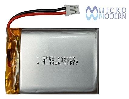 Lithium Polymer Battery 3.7V 1200mAh
